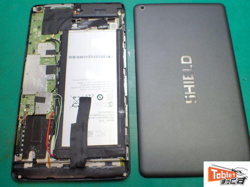 NVIDIA SHIELD Tablet K1 USB充電不良