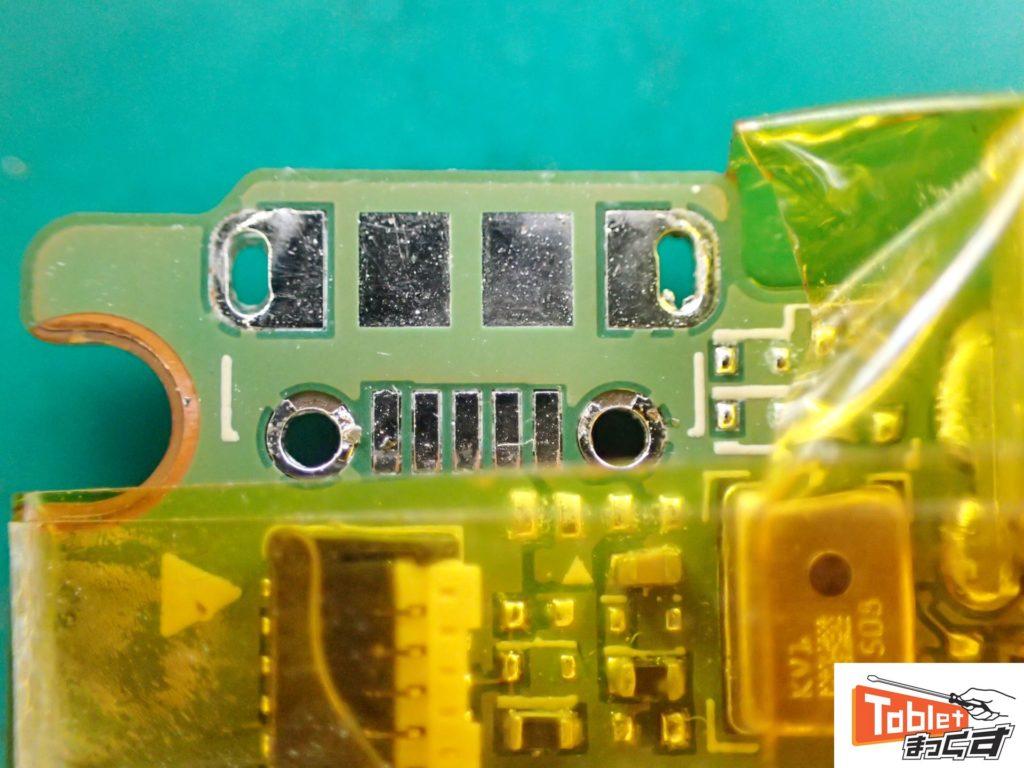 NVIDIA SHIELD Tablet K1 USBコネクタ清掃