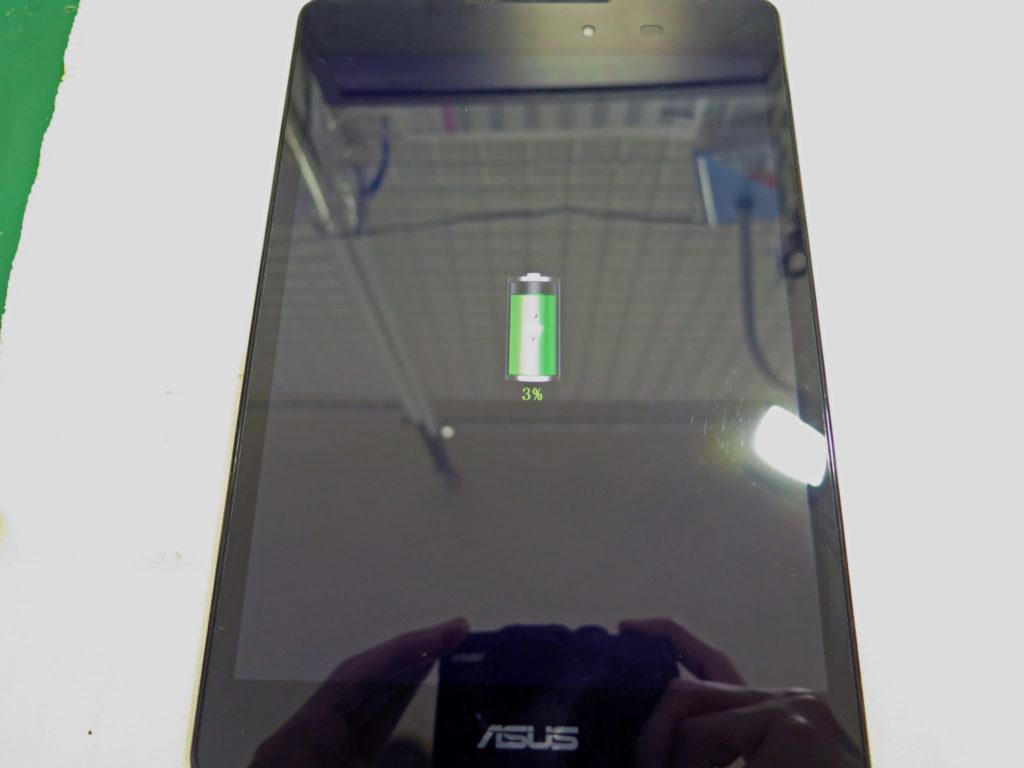 ASUS ZenPad 3 8.0 (Z581KL) USBボード交換完了