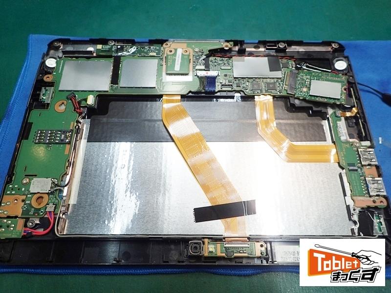 ARROWS Tab Q555 内部基板