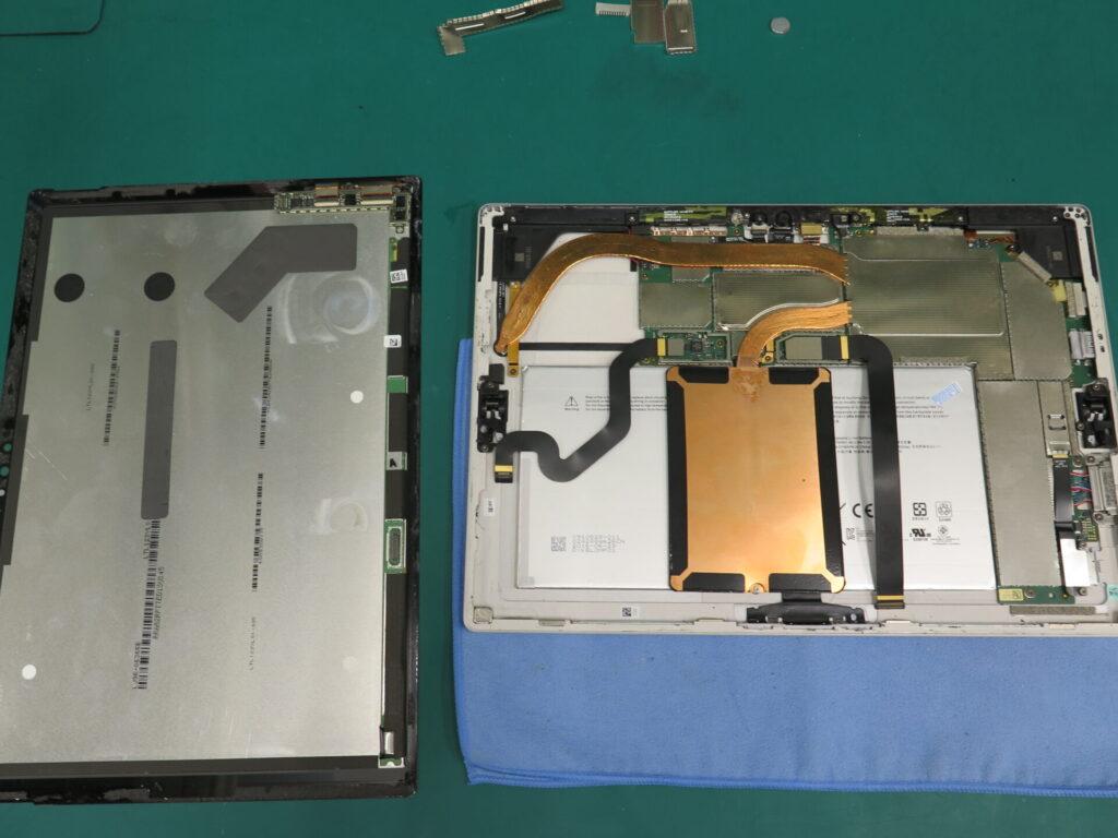 Surface Pro4バッテリー交換
